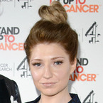 Nicola Roberts does barely-there beauty