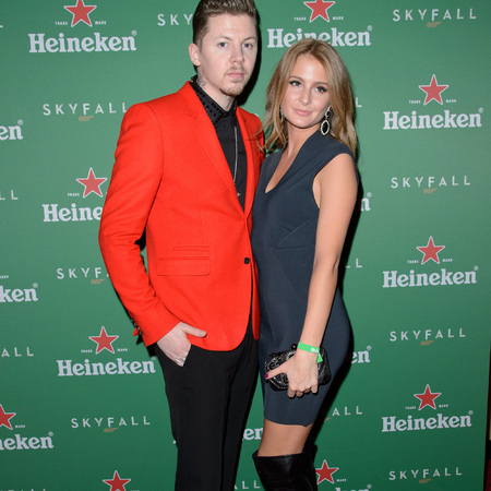 Millie Mackintosh and Professor Green at Skyfall VIP screening
