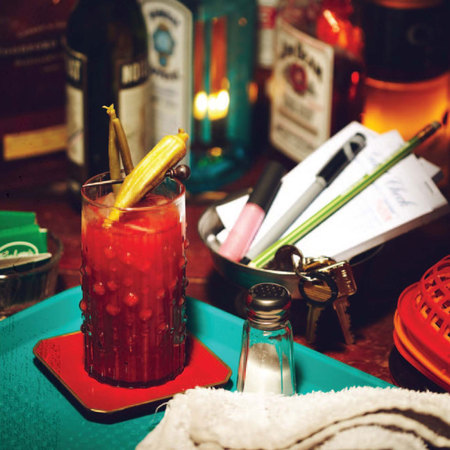 Halloween Bloody Mary from the True Blood Bon Temps cookbook - Evening ...