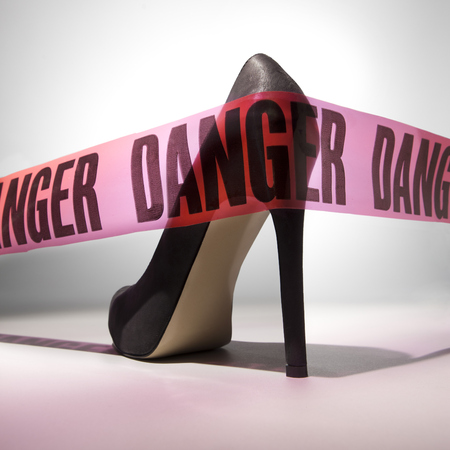 Danger shoes health feature
