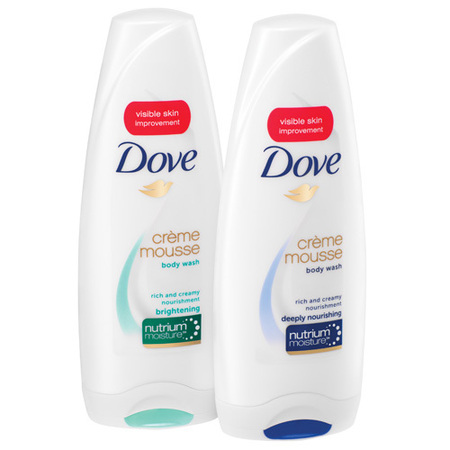 Dove Creme Mousse shower