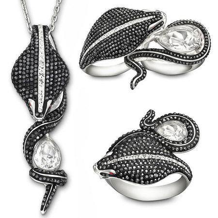Swarovski Skyfall Collection by Stephen Webster - Queen Cobra