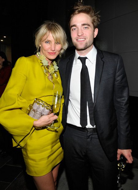 Cameron Diaz and Robert Pattinson at LACMA 2012 Art + Film Gala Honoring Ed Ruscha And Stanley Kubrick Presented By Gucci