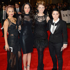 Tulisa and X Factor girls hit Skyfall premiere