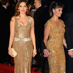 GOLD GLAMOUR: Kelly Brook V Penelope Cruz