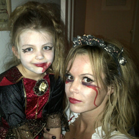 Celebrity inspired Halloween make-up