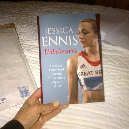 Jessica ennis autobiography