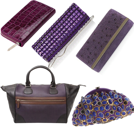 BAG TREND: purple