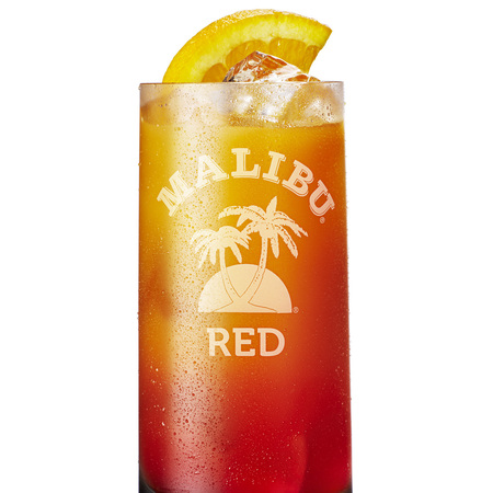 Malibu Red cocktail