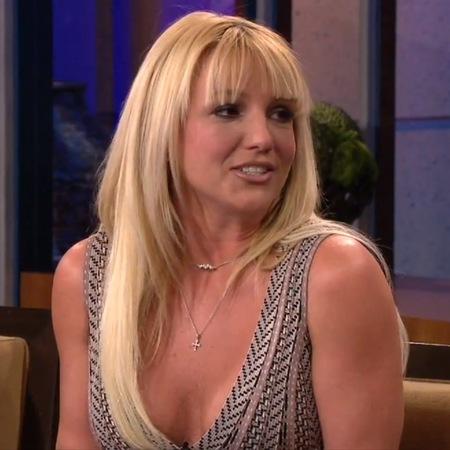 Britney Spears debuts new full fringe