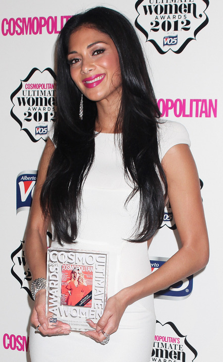 Nicole Scherzinger at Cosmo women's awards 2012