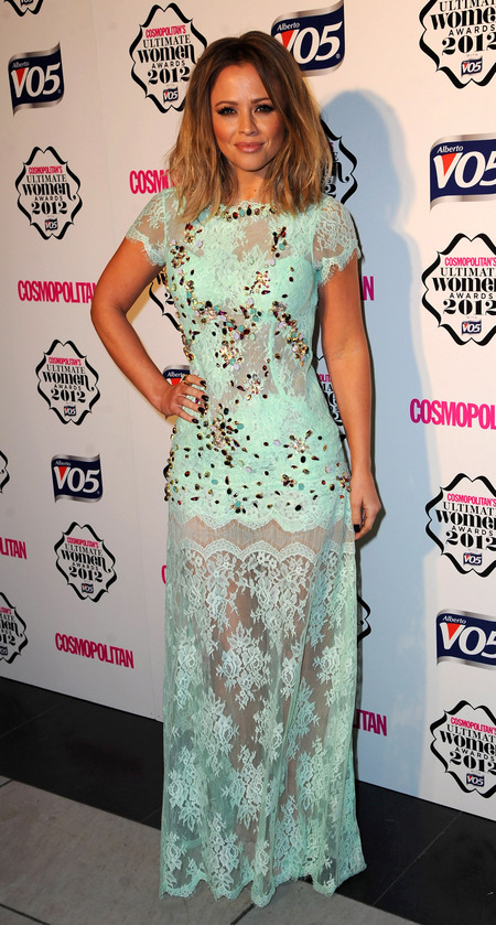 Kimberley Walsh Cosomo Awards 2012