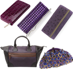 BAG TREND: Purple for party season