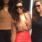 YAY OR NAY: Kim Kardashian's plunging blouse