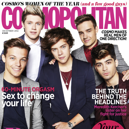 One Direction Cosmopolitan December Issue