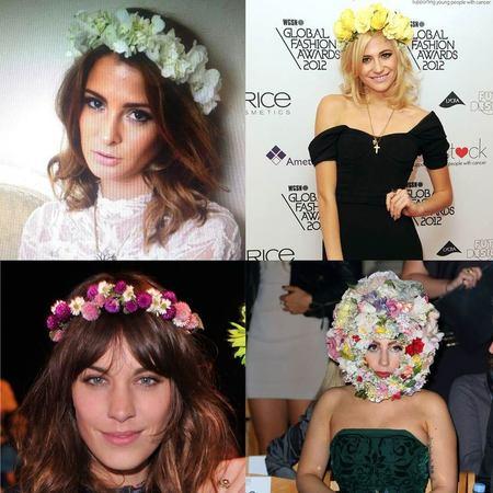 CELEBRITY TREND: Floral crowns