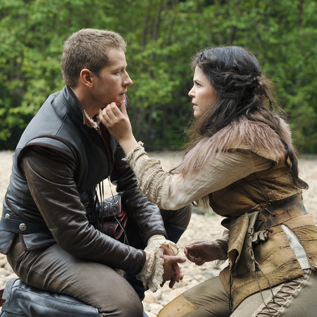 Once Upon a Time Snow and Prince Charming