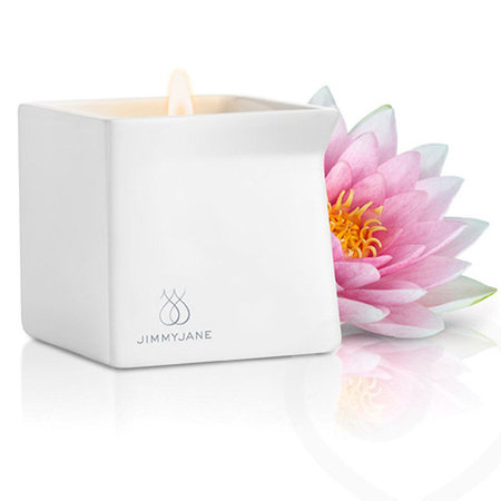 Pink lotus Jimmyjane massage candle