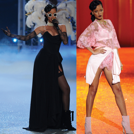Rihanna at Victoria's Secret show 2012