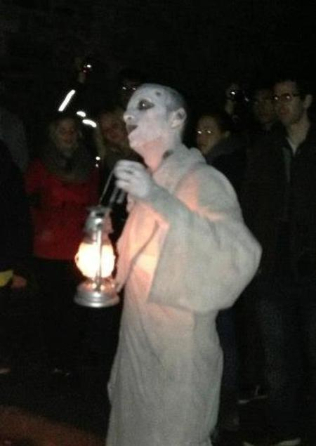 Ghost walk Dublin
