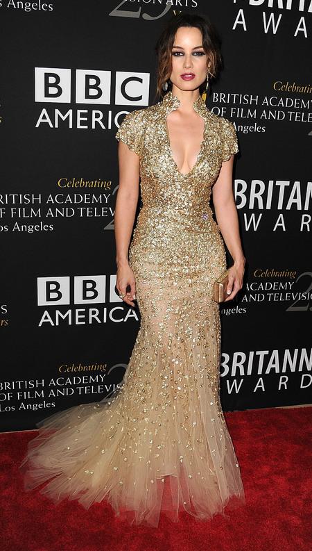 Olivia Munn at LA BAFTAs