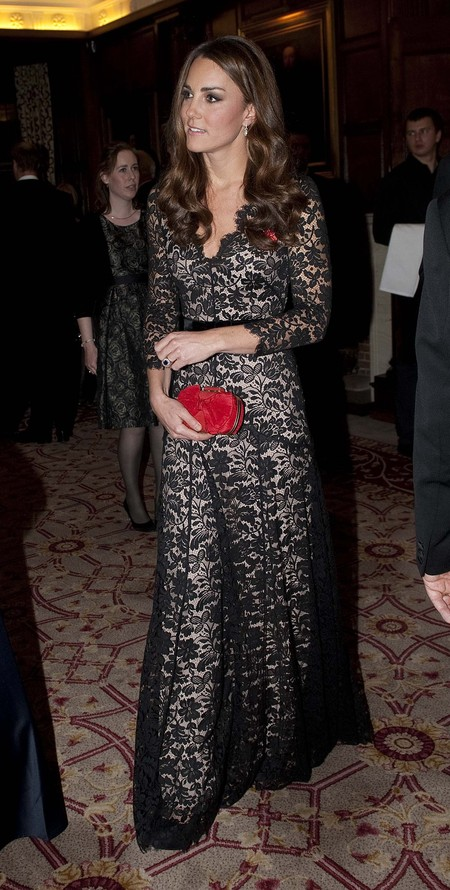 Kate Middleton recycles Alice Temperley dress at St Andrews charity bash