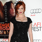 Christina Hendricks sparkles in sequin dress