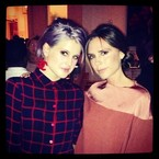 Kelly Osbourne joins the Beckham's date night