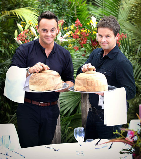 Ant and Dec for I'm a Celeb