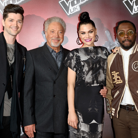 The Voice UK  judges