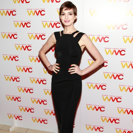 Anne Hathaway at 2012 Women's Media Awards