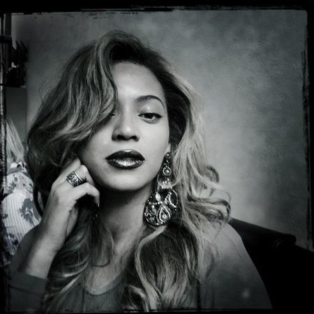Beyonce's vintage makeup
