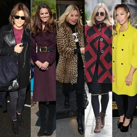 CELEBRITY TREND: Winter coats