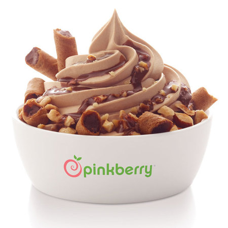Pinkberry Limited Edition Chocolate Hazelnut flavour frozen yoghurt
