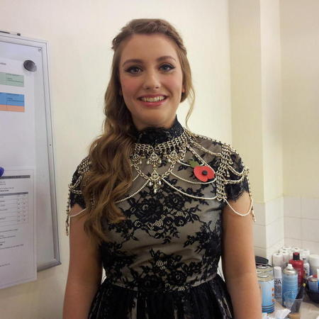 HAIR HOW-TO: Ella Henderson's waterfall braid