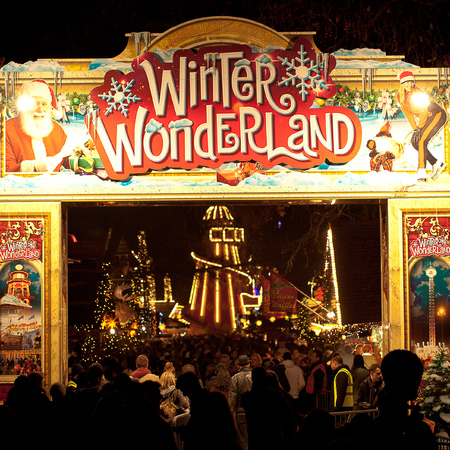 London Winter Wonderland Christmas Market