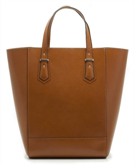 BAG LOVE: Clarks tan leather shopper