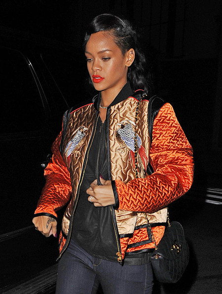 SPOTTED! Rihanna's Chanel bag