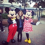X Factor does Disneyland
