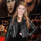Ella Henderson vamps up in velvet for Twilight