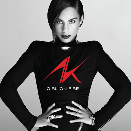 Alicia Keys - Girl On Fire album cover