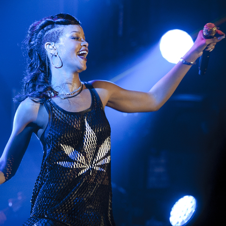 Rihanna in Berlin on 777 Tour