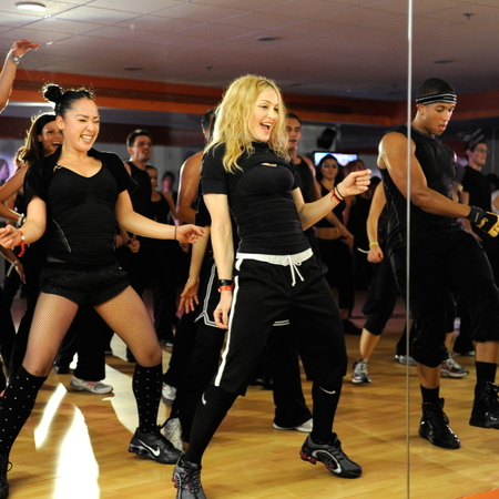 Madonna and Hard Candy fitness