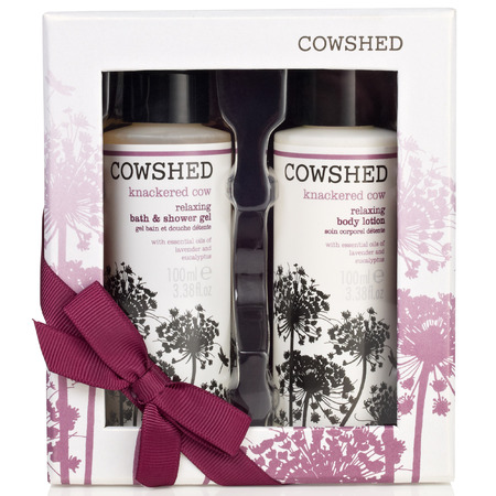 Cowshed Knackered Cow duo set