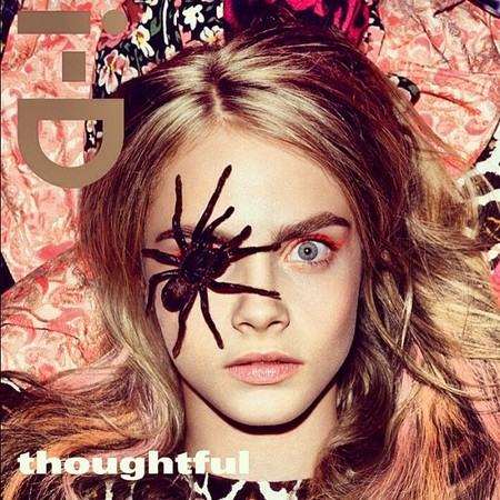 Cara Delevingne goes wild for new i-D cover shoot