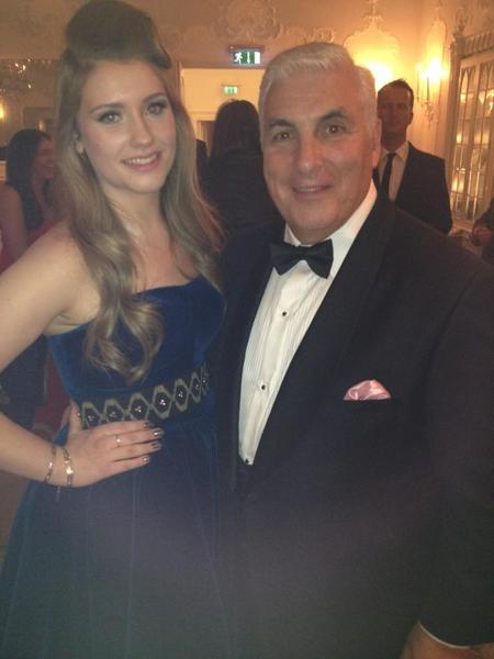Ella Henderson works blue velvet at Amy Winehouse Foundation Ball
