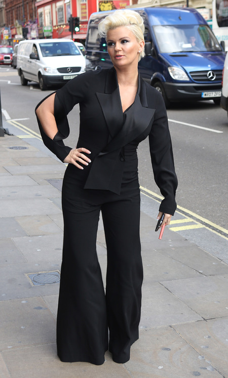 YAY OR NAY: Kerry Katona's flared jumpsuit