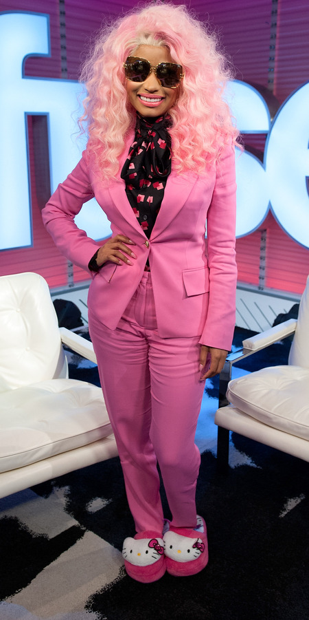 Nicki Minaj at Fuse Top 20 Countdown
