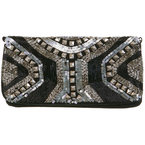 BAG LOVE: Miss Selfridge Stud Clutch