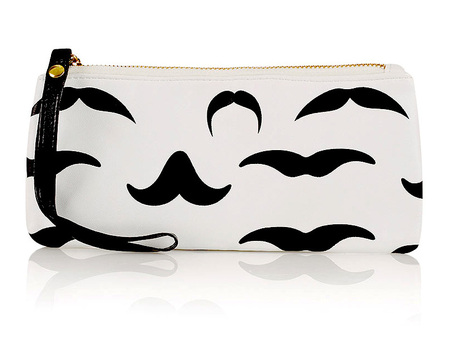 BAG LOVE: Topshop's Moustache Zip Purse, £8